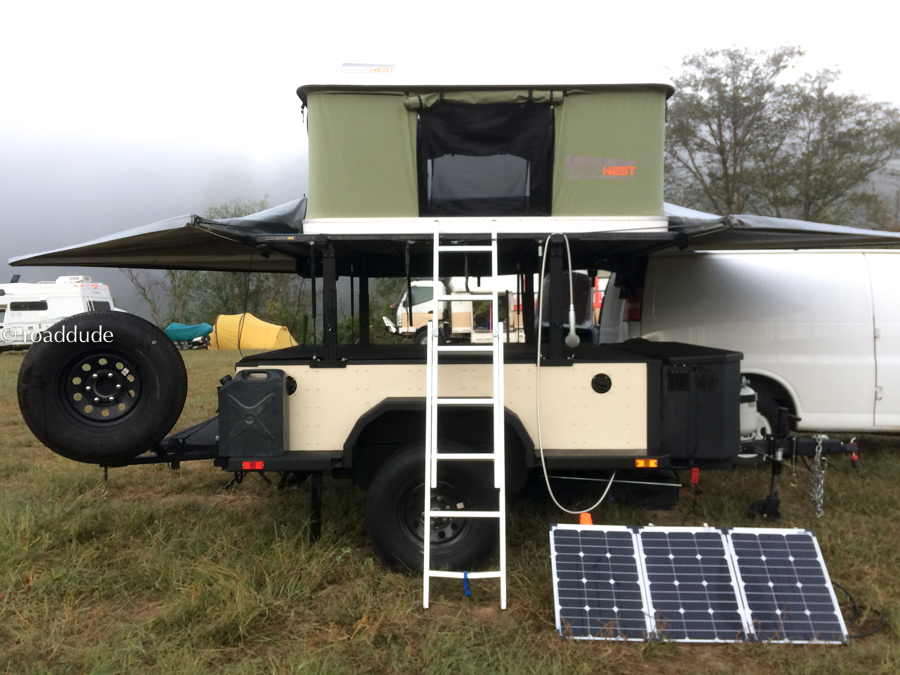 Roaddude's Adventure Rig at Overland Expo East 2017