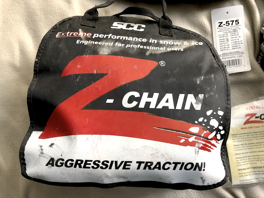 Z-Chain Carrying Bag