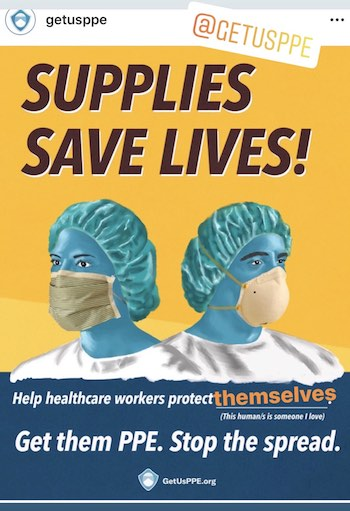 Help healthcare workers protect themselves