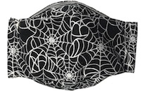 Face mask in Spider Web design