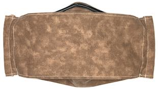 Roaddude Premium Face Mask in Brown Dapple fabric with suede look