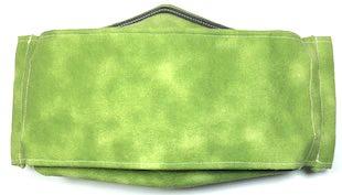 Roaddude Premium Face Mask in Green Dapple fabric