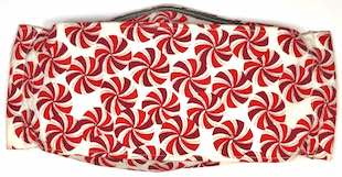 Roaddude Premium Holiday Face Mask in Peppermint Design